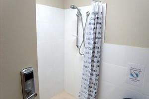 Student living showerroom